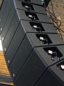 MYSTIQUE SOUND SOLUTIONS, Inc. St. Paul, MN is proud to announce it has taken delivery of an arena sized Adamson Y-Axis line array concert sound system with Adamson's T21 subwoofers.