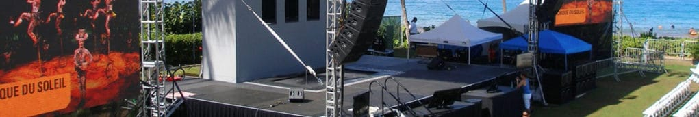 Outdoor audio visual event services in Minnesota