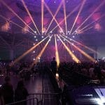 Super Bowl event staging and audio visual services in Minneapolis
