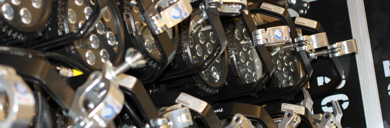 concert event lighting rental services in Minnesota